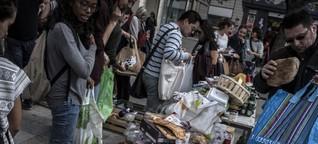 Wie Frankreich gegen den achtlosen Umgang mit Essen kämpft