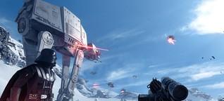 """""""Star Wars Battlefront"""": Begonnen, der Angriff auf die Wohnzimmer hat - ZEIT"""