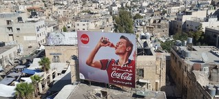 Schnitzeljagd durch Palästina