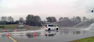Winterliches Fahrsicherheitstraining beim ADAC