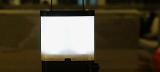 Diese Lampe läuft mit Salzwasser, braucht keinen Strom und lädt sogar euer Smartphone auf - WIRED