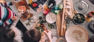 Kochen mit Kindern: Mit diesen Tipps klappt's in der Küche