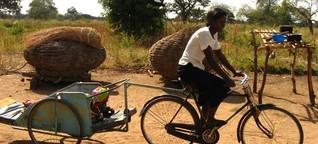 Mit Fahrrädern gegen Müttersterblichkeit in Uganda