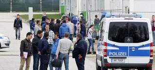 Wohncontainer: Streit unter Flüchtlingen in Hamburg eskaliert