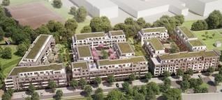 So soll Groß Borstels neue Großsiedlung aussehen