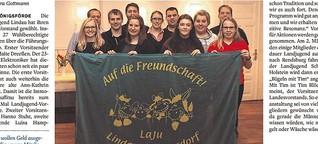 Landjugend Revensdorf: Tanzen, feiern, bügeln