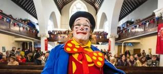 Humor und Religion - Clowns in der Kirche