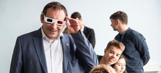 Wiesbaden: 3D-Brillen, schlaue Tafeln: Hessens Schul-Zukunft ist digital