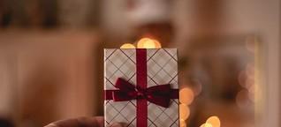 Falsche Geschenke sind belastend