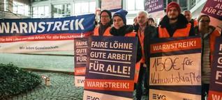 """Bahnstreik 2018: """"Geld ist für die EVG nicht mehr alles!"""""""