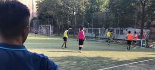 Den Kopf frei durch Fußball