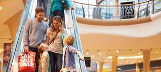Passagen und Einkaufszentren: Alles unter einem Dach