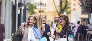 Das Glück des Einkaufens