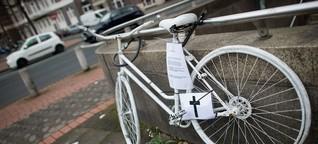Fahrradklima-Test: Wo Radfahren sich am gefährlichsten anfühlt