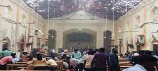 Serial bomb blast in Colombo capital of Sri Lanka, 160 died , 300 injured