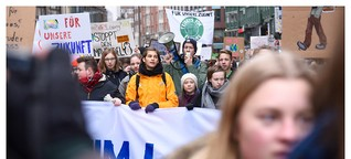 Greta Thunberg in Hamburg