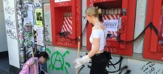 Aufräumen nach den Krawallen: Hamburg macht klar Schiff