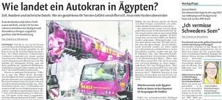 Wie landet ein Autokran in Ägypten?