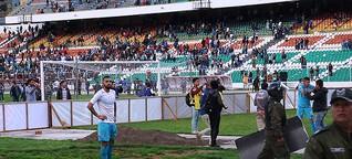 Bolivie – Apertura 2017 : Victoire sous tension du Bolívar face à San José