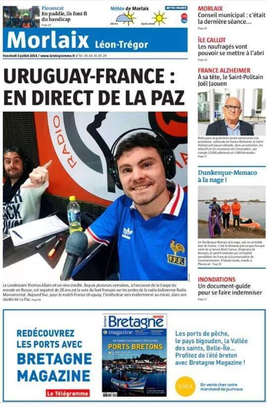 Uruguay - France : en direct de La Paz