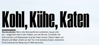 Kohl, Kühe, Katen