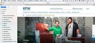"""KfW Award Gründen: Firmenportrait """"Goldeimer"""" für kfw.de"""