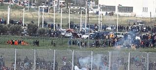 Zusammenstöße an Gaza-Grenze