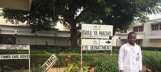 Vom mosambikanischen Allgemeinarzt zum Spezialisten für Augenheilkunde