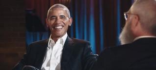 Eine Bemerkung kann sich Obama dann doch nicht verkneifen