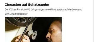 DLF: Cineasten auf Schatzsuche