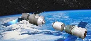 Chinesische Raumstation soll um Ostern auf die Erde stürzen