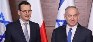 Treffen abgesagt: Polen will nicht mit Israel über Wiedergutmachung reden