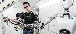 Künstliche Intelligenz: Wo Roboter Schwimmen lernen