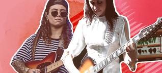 Warum Frauen an der Gitarre unterschätzt werden - Spoiler: Es hat mit Männern zu tun