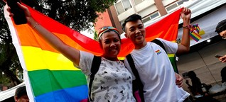 Erster Staat in Asien: Taiwan erlaubt Ehe für alle