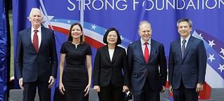 The US Opens a New Compound in Taiwan. It's Business As Usual.