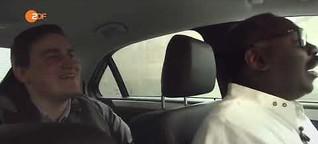 Taxifahrer Isaak Cisse in München