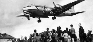 """""""Rosinenbomber"""" wieder im Anflug auf Berlin"""