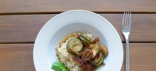 Zucchini Pfanne Rezept – vegetarisch, vegan und super für Fleischesser