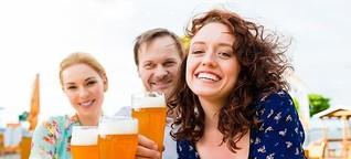 Biergärten in Hamburg: Im Freien schmeckt's einfach besser