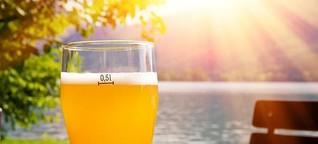 Biergärten im Park: Seeblick im Grünen