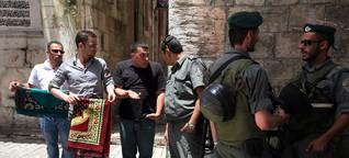 Israelis & Palästineser: Der Feind hört zu
