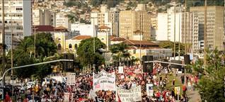 Proteste gegen geplante Rentenreform in Brasilien gehen in die nächste Runde