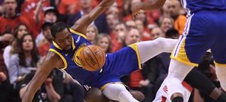 NBA-Finals: Warriors entsetzt nach Verletzung von Kevin Durant