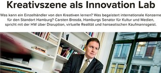Kreativszene als Innovation Lab