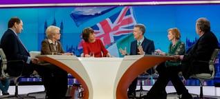 """TV-Kritik Maybrit Illner: """"Wir werden Großbritannien immer lieben"""""""