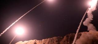 Iran schießt ballistische Raketen nach Syrien - das ging daneben
