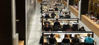 Ich habe 24 Stunden am Stück in der Uni-Bibliothek verbracht