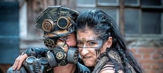 """""""Steampunk"""": Michael Etzel und Sylvia Böck aus Hügelsheim reisen durch die Zeit [1]"""