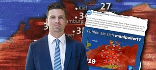 AfD-Politiker werfen der ARD Manipulation vor - weil sie Wetterkarten nicht verstehen